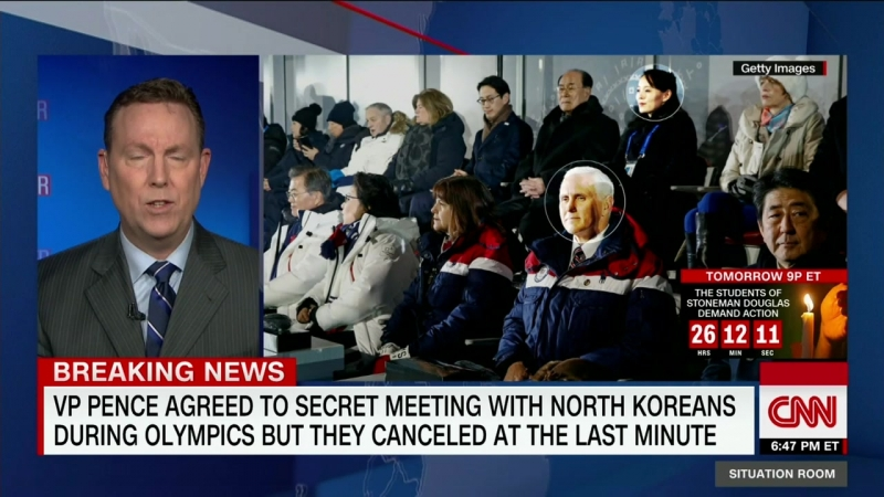 US Vice President Mike Pence was set to meet with North Korean officials, but they canceled