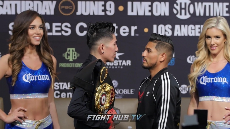 Leo Santa Cruz - Abner Mares - Face Off