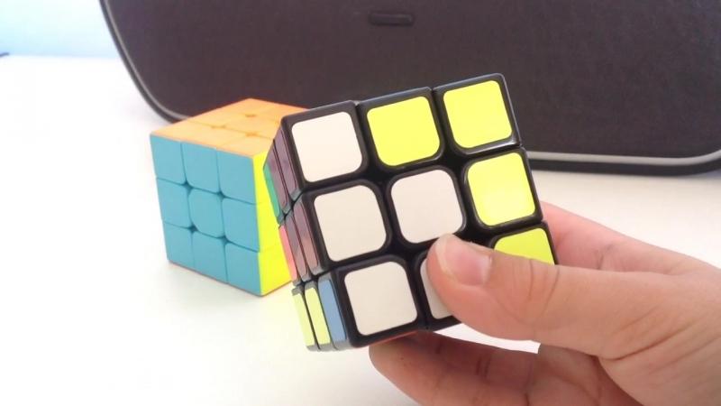 как собрать кубик Рубика (1 и 2)часть