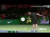 Крутой поступок теннисиста