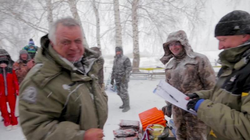 Первый зимний марафон по подледной ловле