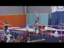 Катя. Первенство СПб Снежинка 2018 16.02.18. 1 юн.разряд. Опорный прыжок.