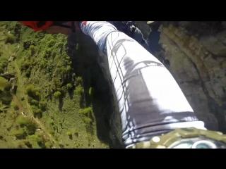 [8й] Березовое ущелье. Объект Вера, окресности Кисловодска. 29.04.18 команда NoFear. прыг №2