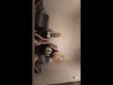 Офигенные блондинки танцуют в перископе