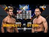 UFC FN 133 Sage Northcutt VS Zak Ottow