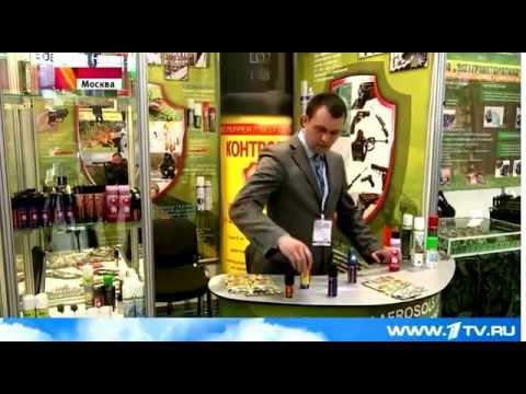 1-й канал про новинки- баллончики от медведей Контроль-АС