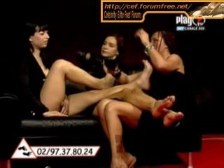 Abrianna  Dea Both Feet Gets Tickled Part 1