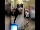 Свадебный танец в ресторане Ангел