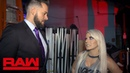 Video@alexablissdaily | Mike Rome apologizes to Alexa Bliss: Raw Exclusive, July 16, 2018