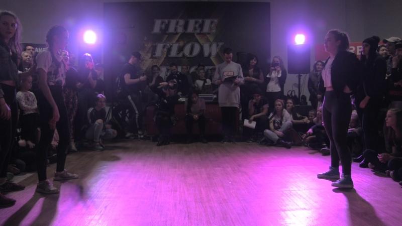 Free Flow Fest 2017. Dancehall pro 18. Федина vs. Витуся