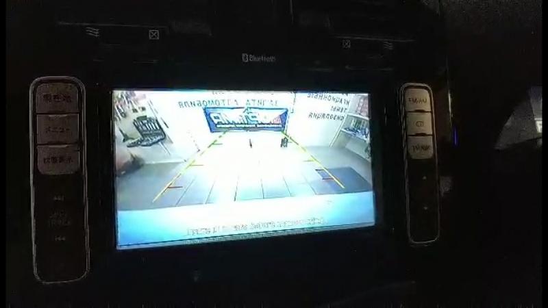 Парктроник Спарк 4D пример работы