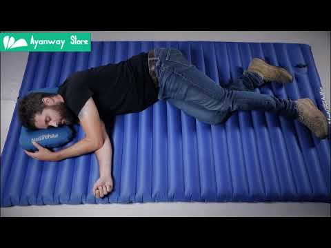 NatureHike press Inflatable Mattress for Camping tent Swimmimg foldable Air Pad