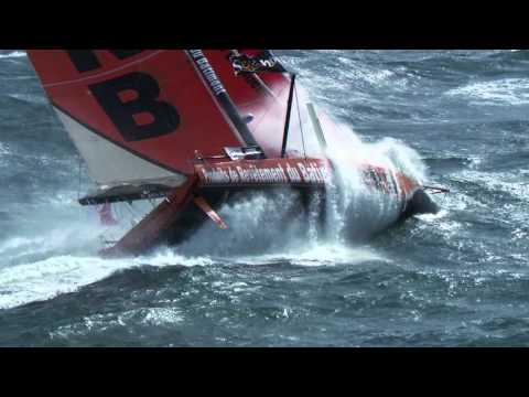 Vendée Globe 2016 PRB dans la tempête