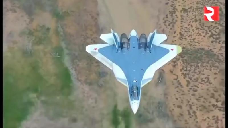 Завораживающий полет Русского истребителя ПАК ФА Т-50