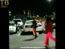 A Womans Scorn Shorty Fcks Up Some Dudes BMW In The Parking Lot Video
