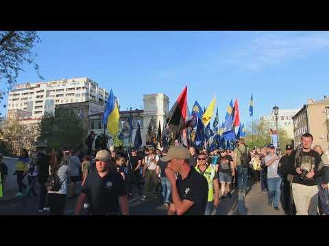 Марш украинского порядка в Одессе 2 мая 2018 года