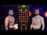 Khuseyn Kushagov vs. EJ Brooks