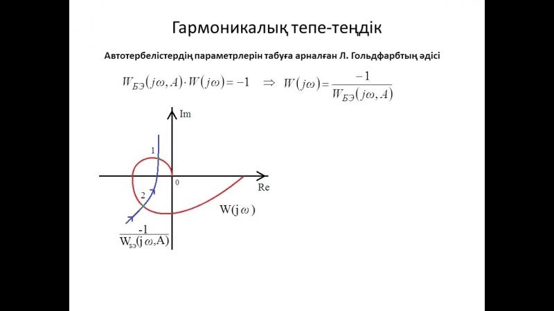 Лекция 16. Гармоникалық тепе-теңдік (баланс)