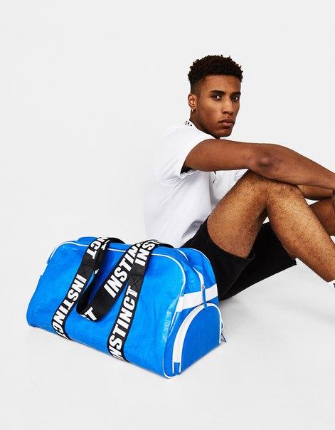 Спортивная сумка в стиле ретро