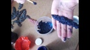 Фактурное, многослойное старение отливок при помощи самодельной краски от Eiena HandWorkDecor.