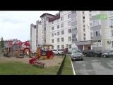 Как детскую площадку после дождя красили
