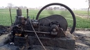 Punjab Old Black engine works and draw water from earth.
