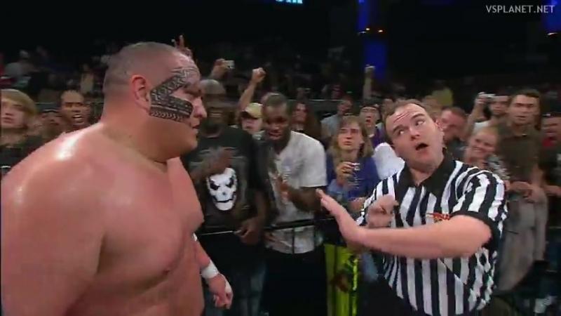 |WM| Кевин Нэш против Самоа Джо - Sacrifice 2009