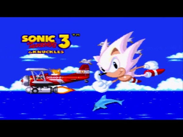 Sonic 3 and Knuckles limited edition credits!