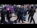 Мирный ОМОН в Минске разгоняет мирную акцию 25 марта