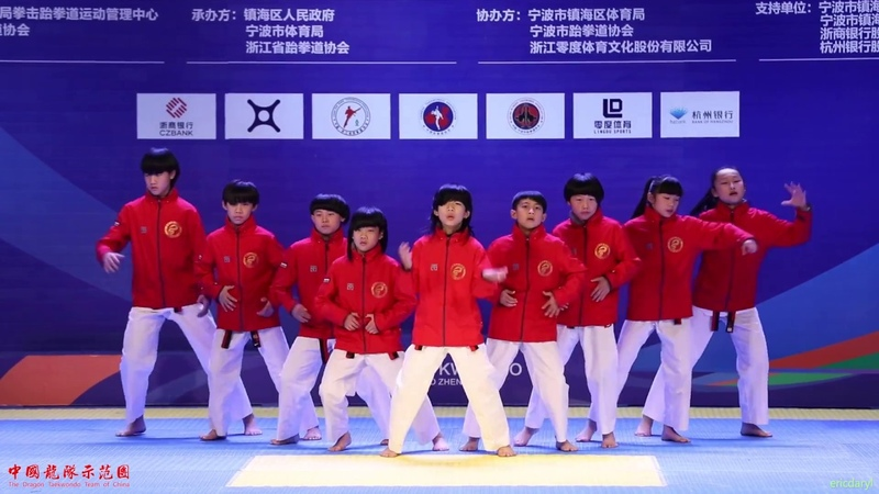 2017 Elite Challenge Taekwondo Dance,Junior 1st,Dragons Kids, 大众跆拳道 精英挑战赛 跆拳舞 少年组 冠军 宁波38431