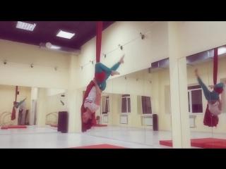 Алиса Свиридова, воздушные полотна