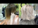 Осветление волос- холодный блондин -- Highlights- Cool blonde
