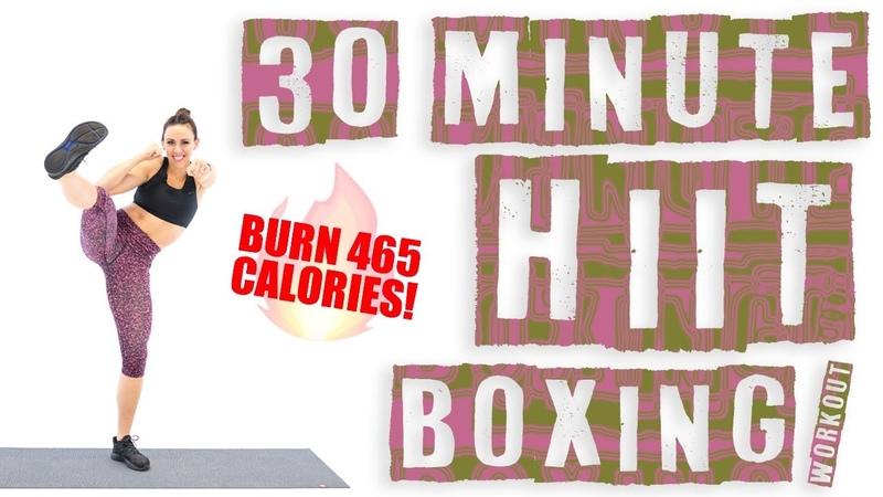 30 Minute HIIT Boxing Workout 🔥Burn 465 Calories! 🔥