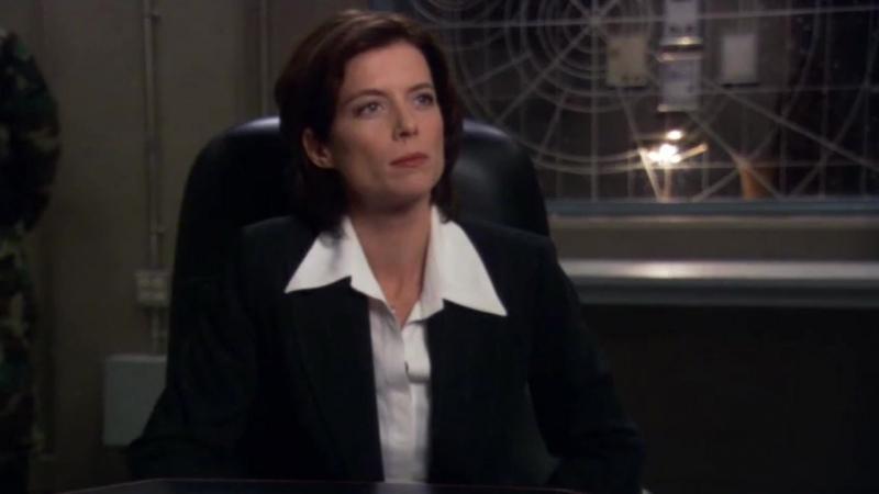 Звездные врата: Первый отряд  1-2 серия 8 сезона  Элизабет Вейр 9 сцена