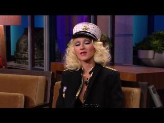 Christina Aguilera AMA performance tonight show with Jay Leno