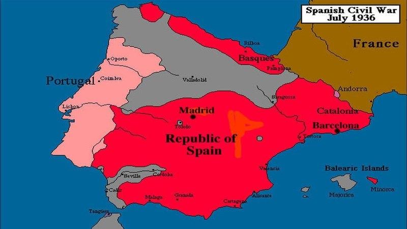 Гражданская война в Испании (рассказывает историк Екатерина Гранцева)