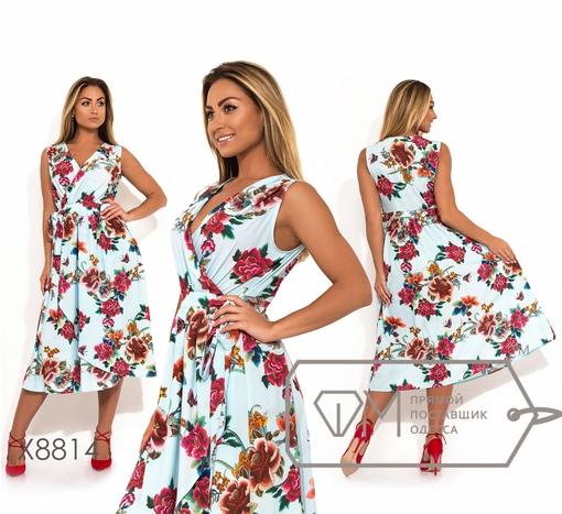 Платье № x8814 - на запах