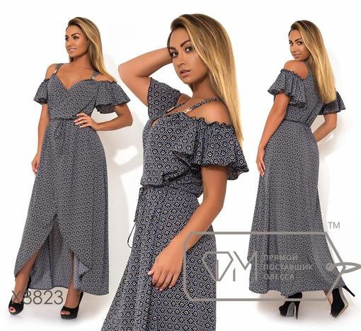 Платье № x8823 - на запах
