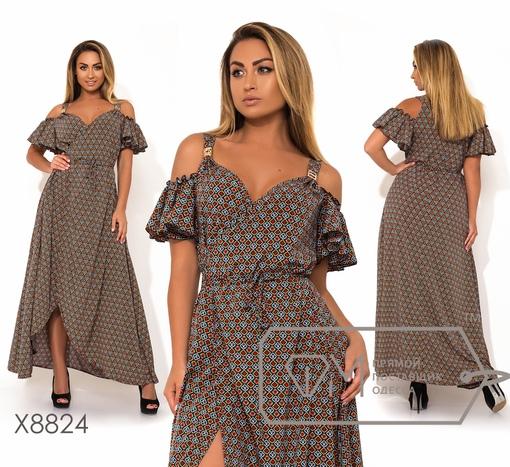 Платье № x8824 - на запах