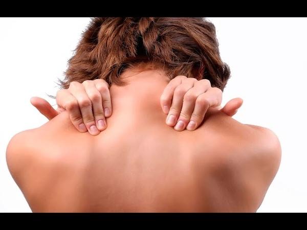 Снятие мышечного напряжения. Массаж шеи и плеч.