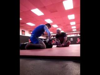 Арман Оспанов в JacksonWink MMA