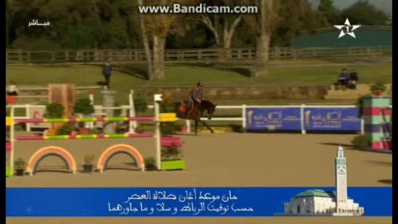 Напонимание об Исламской молитве во время конного спорта на канале Al Aoula (Марокко). 17.12.2017