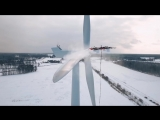 Aerones wind turbine cleaning drone interview