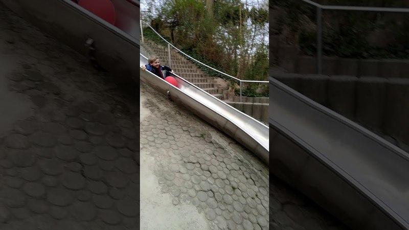 Самая высокая детская горка в Мире (Аугсбург)