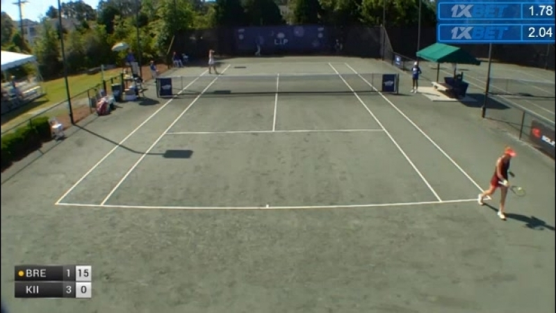 ITF Women Charleston 80k QF 2018 Brengle vs Kiick Part 1