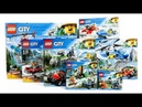 ALL LEGO City Mountain Police Compilation Speed Build Construction Toy