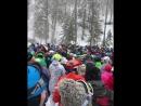Огромные очереди на подъёмнике Эдельвейс - Роза Хутор. ❄️🚠