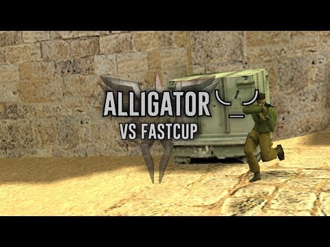 CS16 Alligator ╰_╯vs fastcup_ace usp