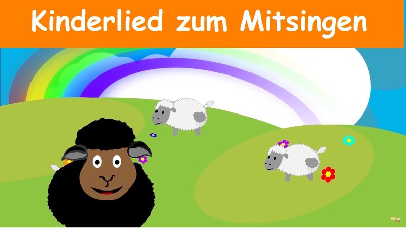 Baa Baa Schaf - Sing mit (Karaoke Version) mit Text am Monitor