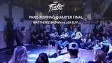 Funkin' Stylez Paris preselections - Popping quarter final Matthewz Brown vs L